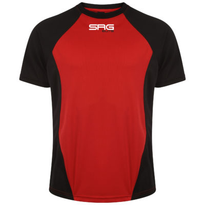 Training Tee BlackRed (Front) copy