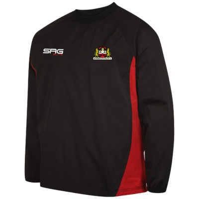 Windbreaker BlackRed (Angle) copy